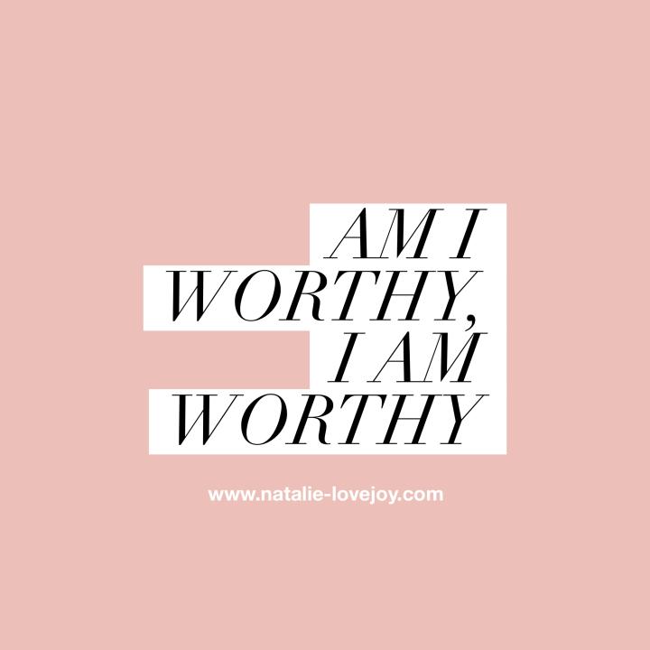 Am I worthy, I amworthy!